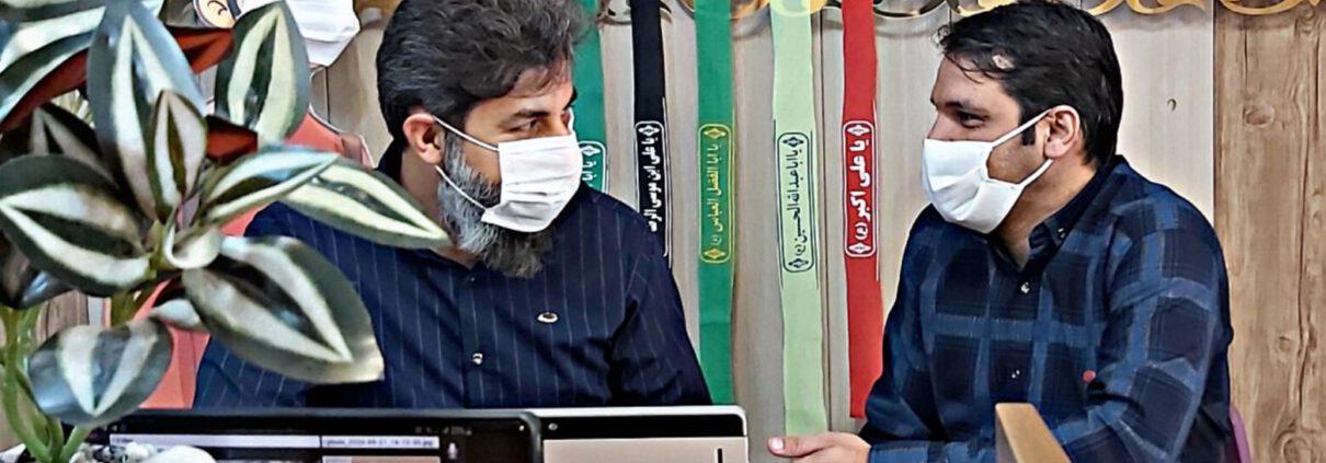 دومین صبحگاه آنلاین دبیرستان سلام صدر